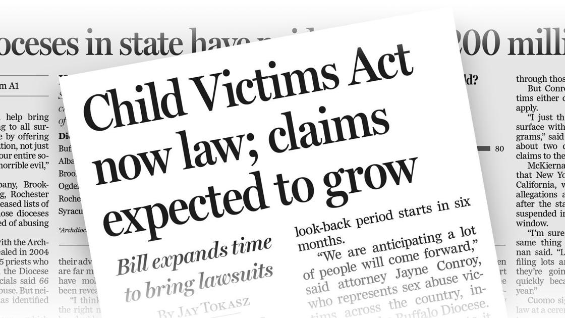 Case by case: Child Victims Act filings detail heart-wrenching stories ...