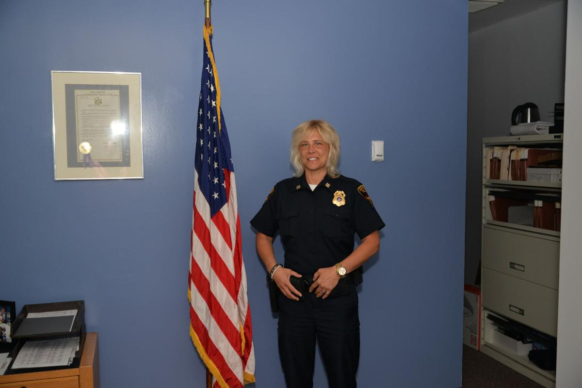 Amherst Police Captain Tracy Martin