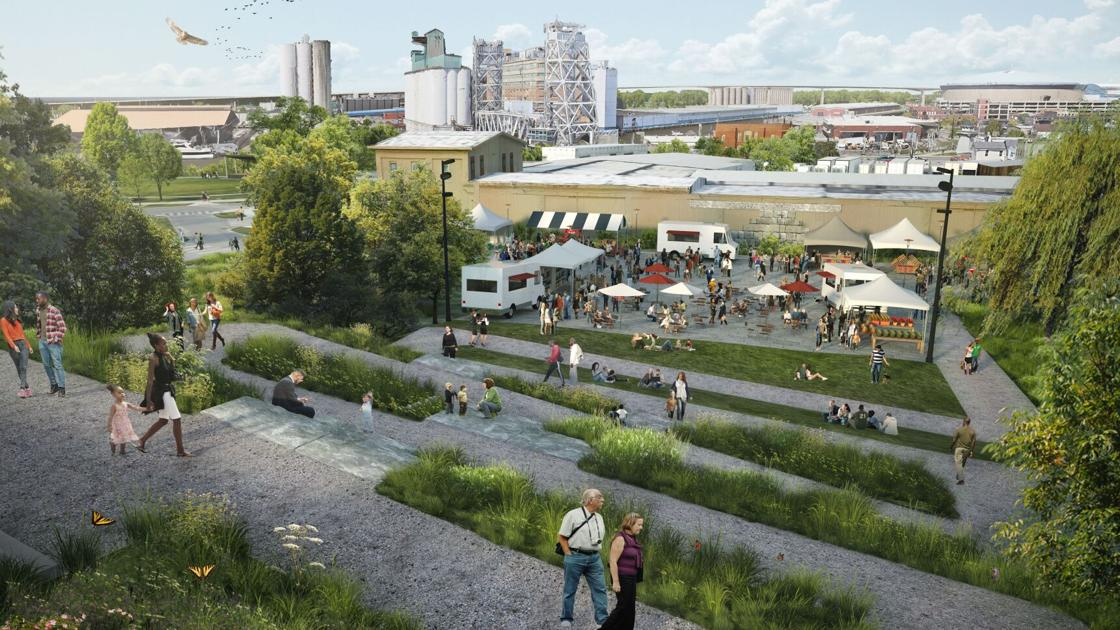 'Nature as a refuge': Final design for the Riverline is unveiled