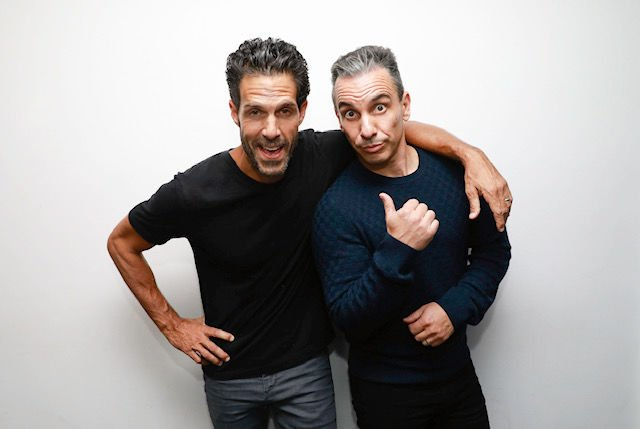 Pete Correale and Sebastian Maniscalco