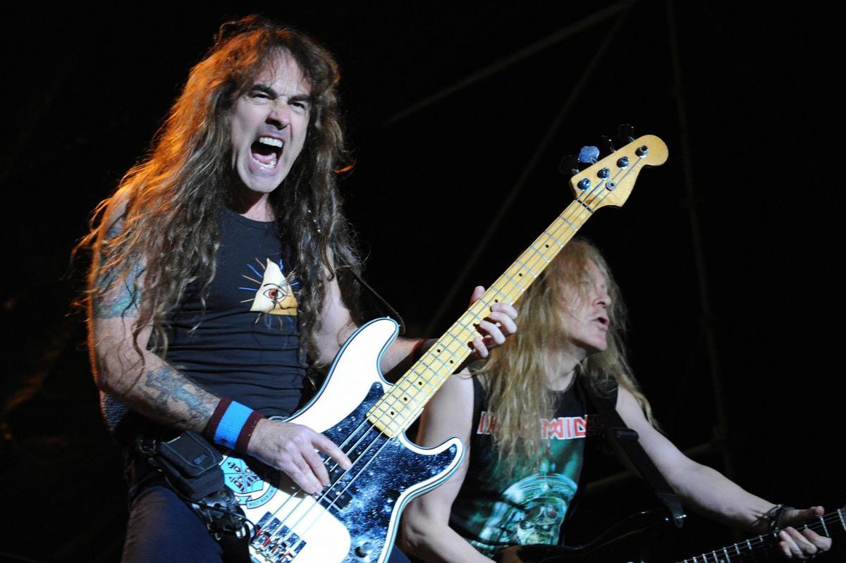 Steve Harris Iron Maiden