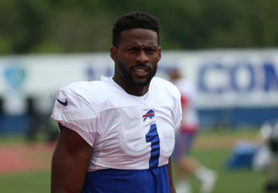 Photos from Buffalo Bills training camp on Tuesday