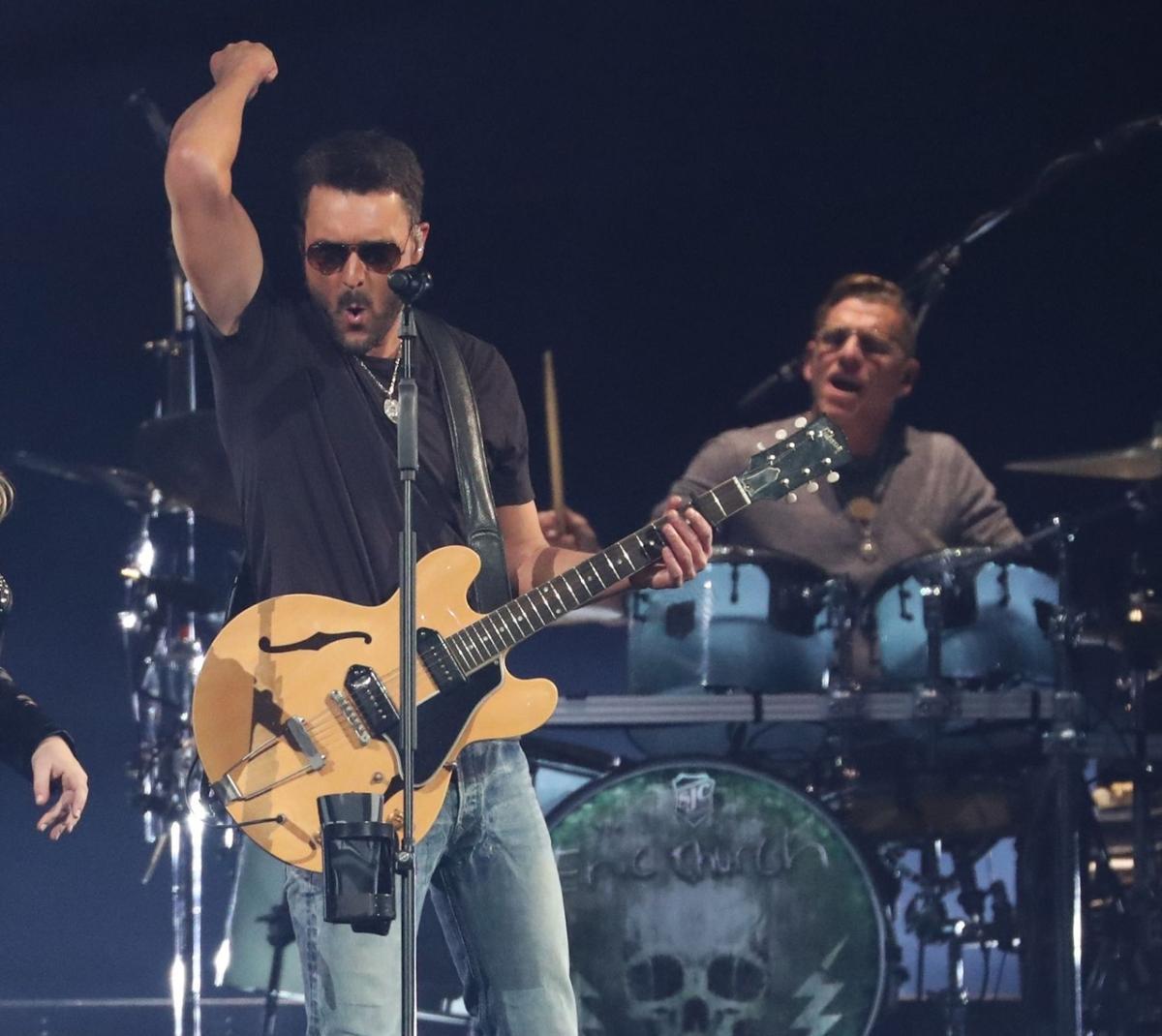 Eric Church entertains in KeyBank Center