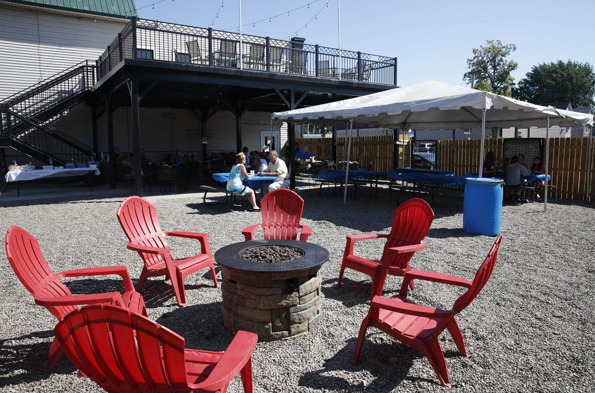 Blackthorn Restaurant patio