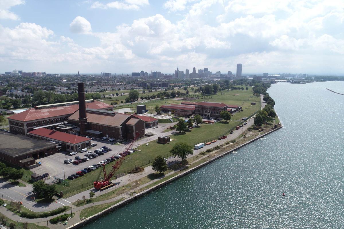 Centennial Park aerial
