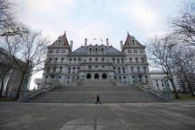 Exploring the historic New York State Capitol building (copy)