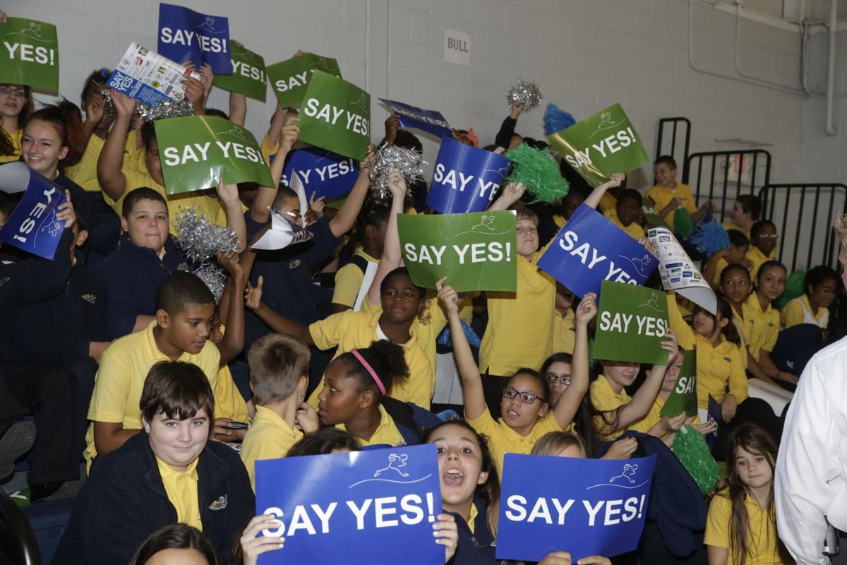 LOCAL CSAT/Say Yes announcement  HICKEY