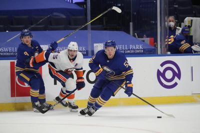 Sabres Islanders second