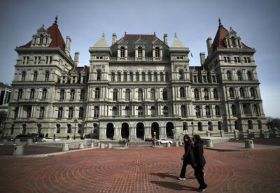 The New York State Capitol in Albany, where the Legislature holds its sessions. (copy)