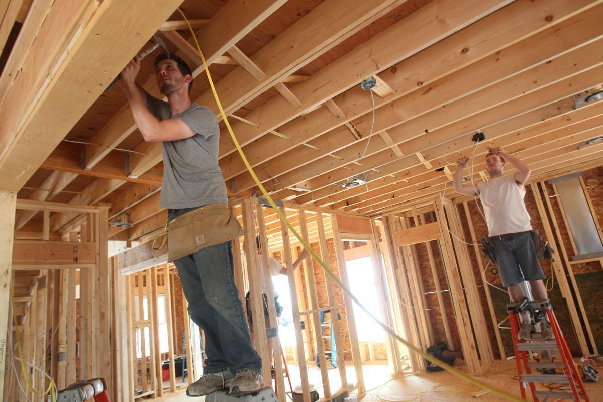New home construction Cantillon