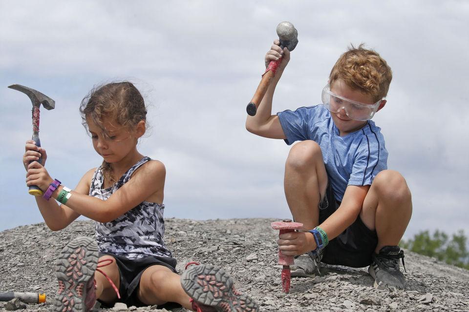Penn Dixie Fossil Park children