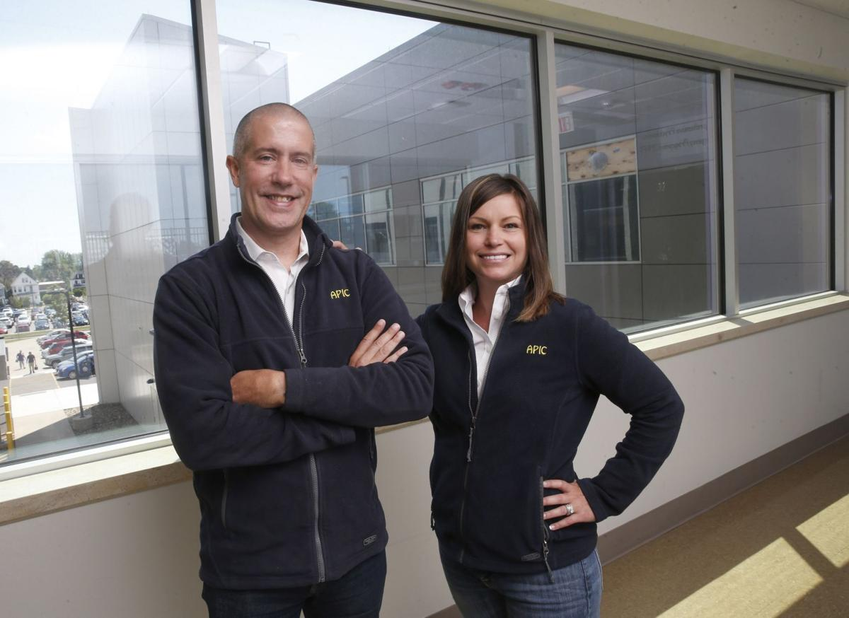 Dr. Michael Cummings and Janell Van Cleve ECMC