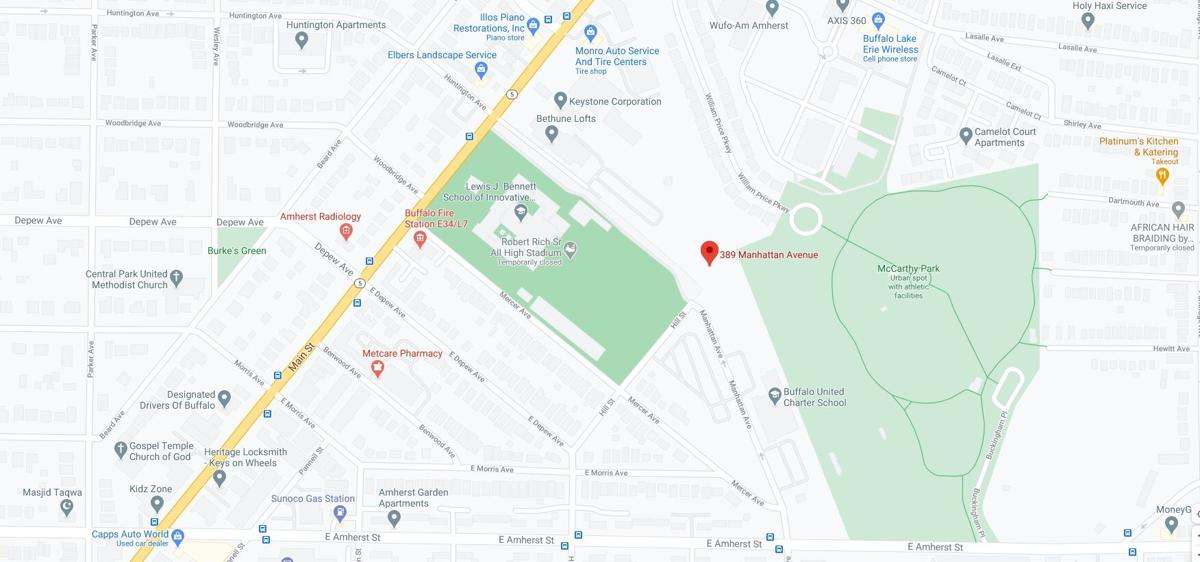 389 Manhattan Ave. map