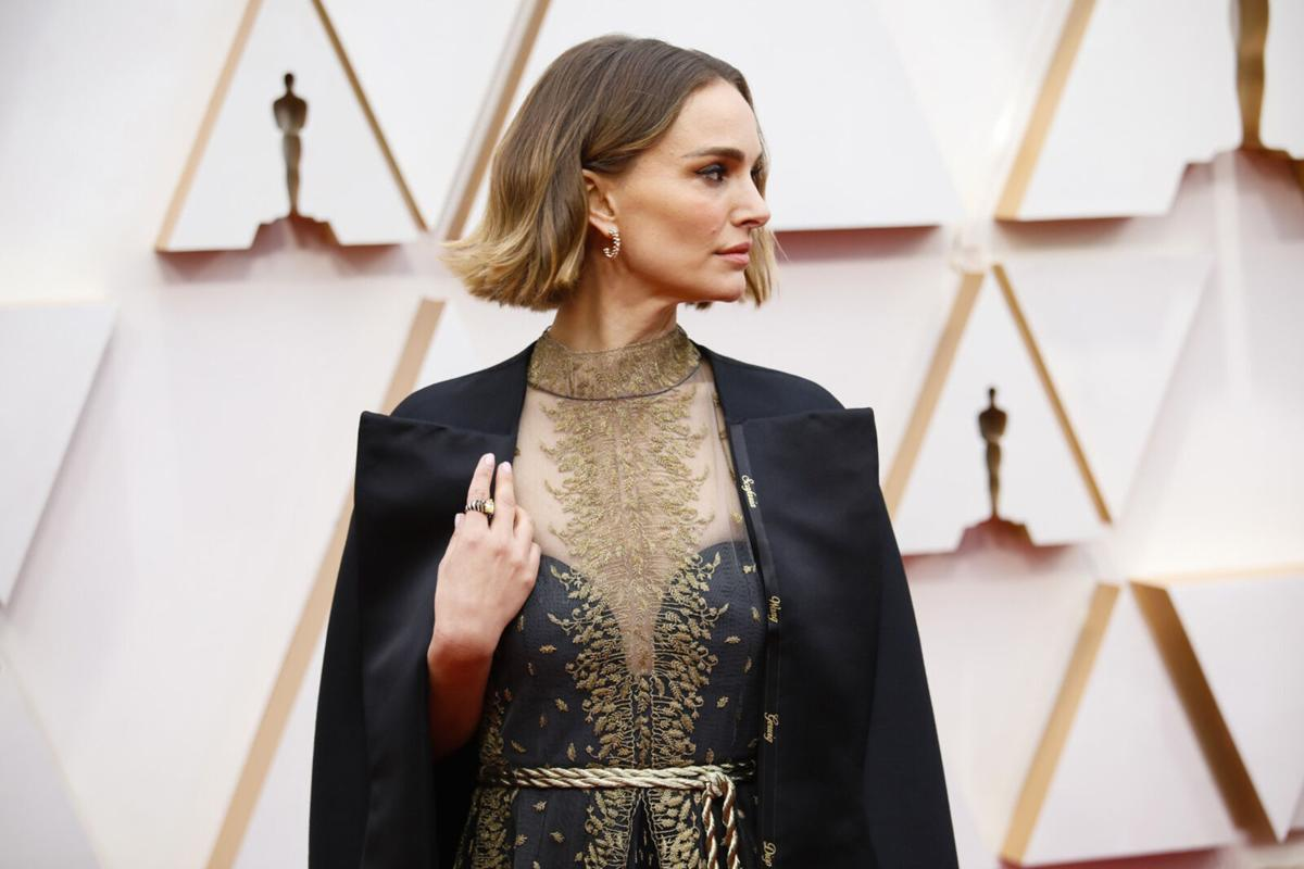 HOLLYWOOD,  CA – February 9, 2020: Natalie Portman arriving at the 92nd Academy Awards on Sunday, February 9, 2020 at the Dolby Theatre at Hollywood & Highland Center in Hollywood, CA.