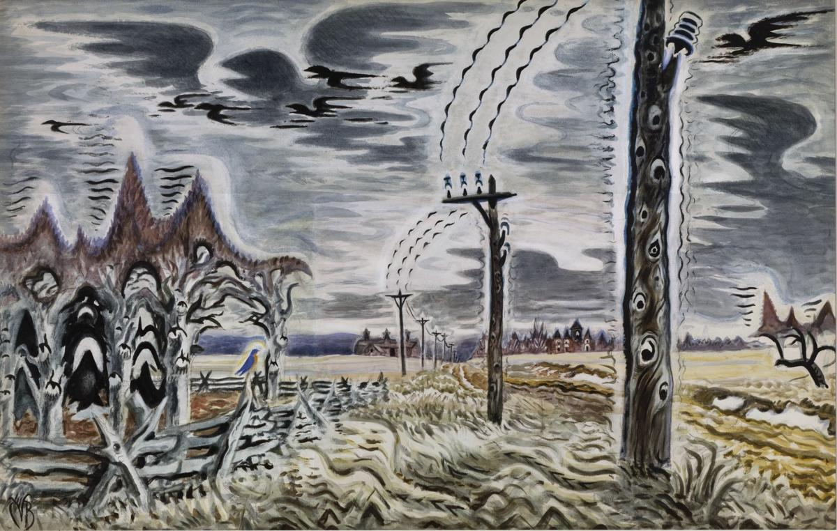 Song of the Telegraph, 1917-52 Burchfield Penney