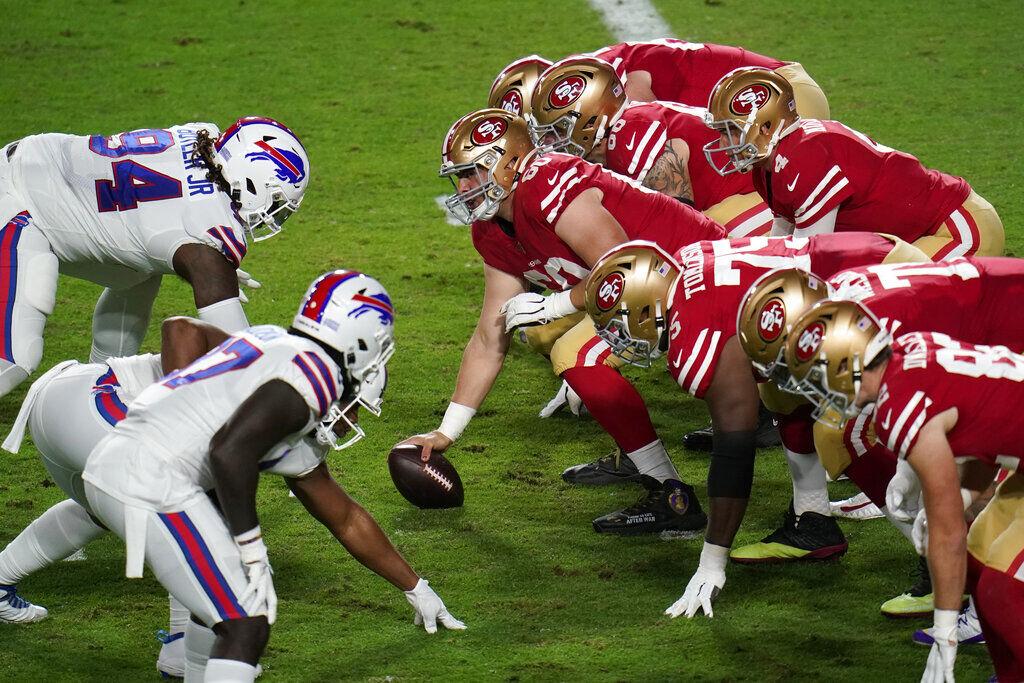 Bills 49ers Football