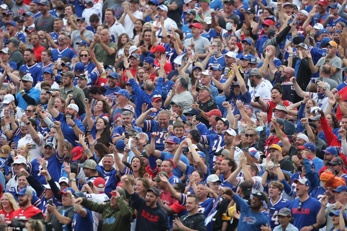 Bills Fans Highmark Stadium Mask Enforcement