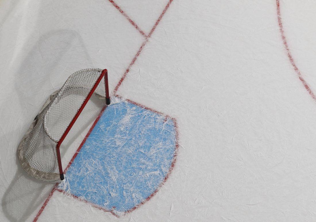 Pittsburgh Penguins v New York Islanders hockey net