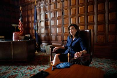 Hochul says she is ready and able to lead a scandal-weary state government