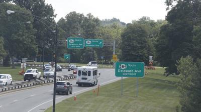Scajaquada Expressway traffic