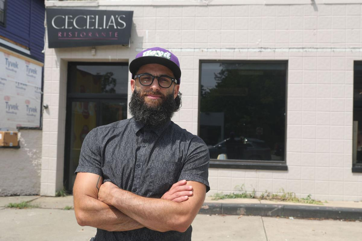 Peter Cimino, co-owner of Lloyd Taco, outside Cecelia's restaurant, where Cimino and his partner want to open a new Lloyd restaurant. (copy)