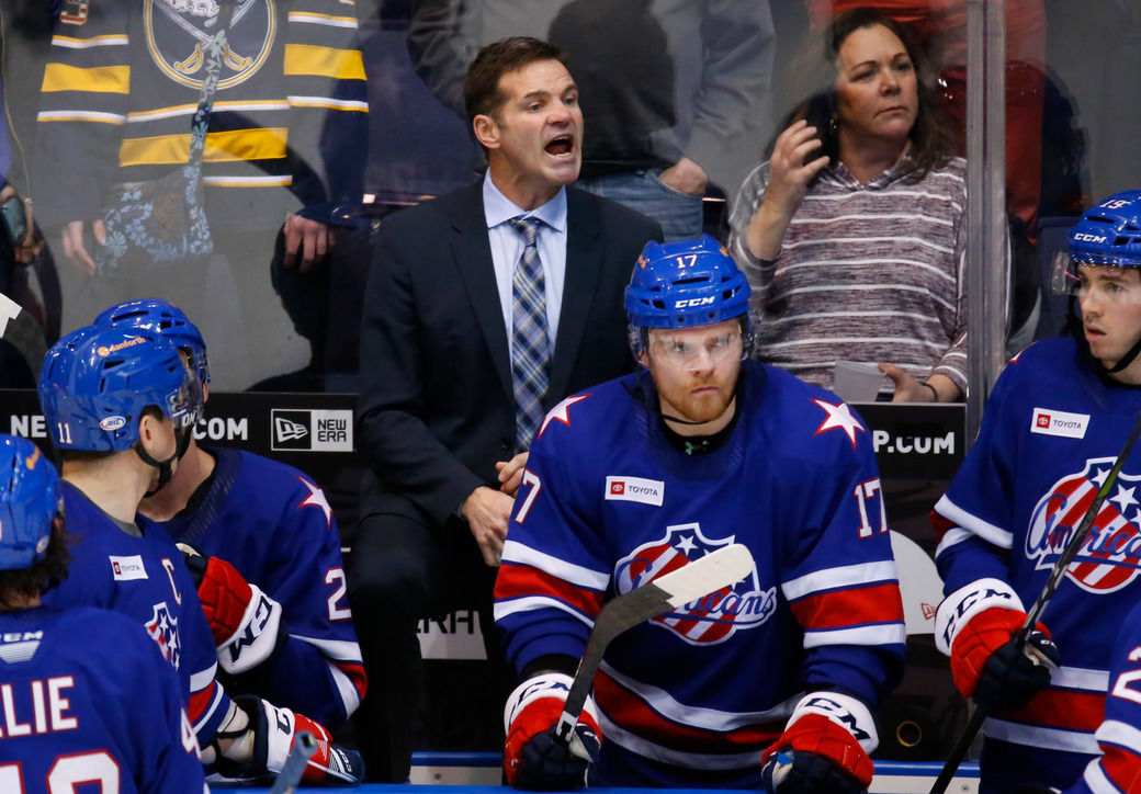 Devils hire former Amerks coach Chris Taylor as assistant