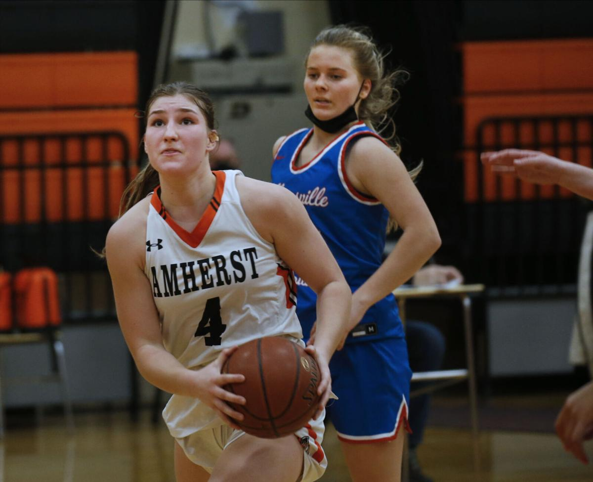 Williamsville South girls basketball at Amherst (copy)