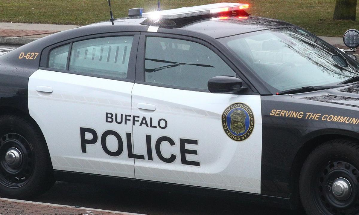 buffalo police light car