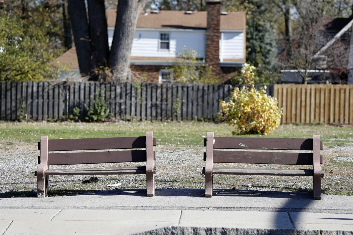 Amherst Gas Station Benches