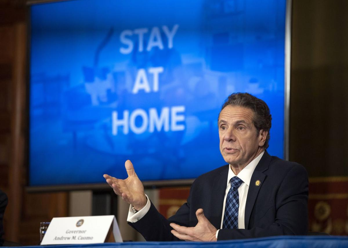 Cuomo addresses coronavirus: Stay at home (copy)