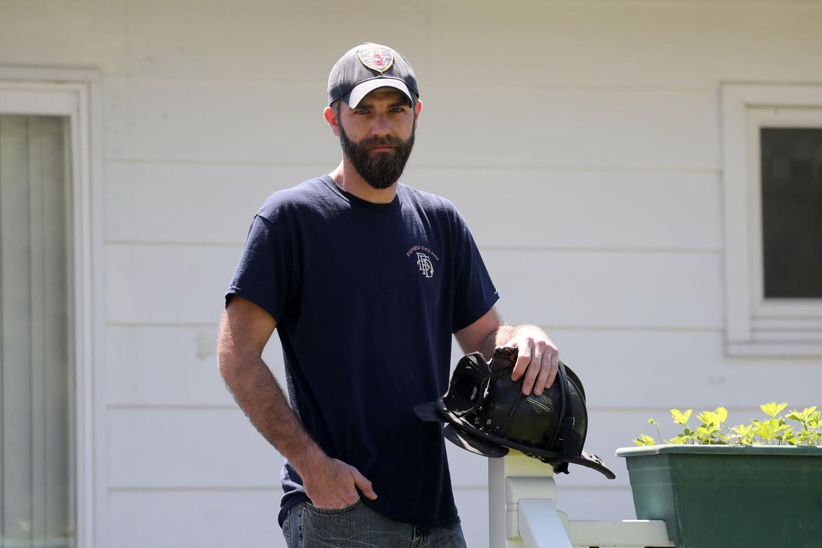 Buffalo Firefighter Scott Martin