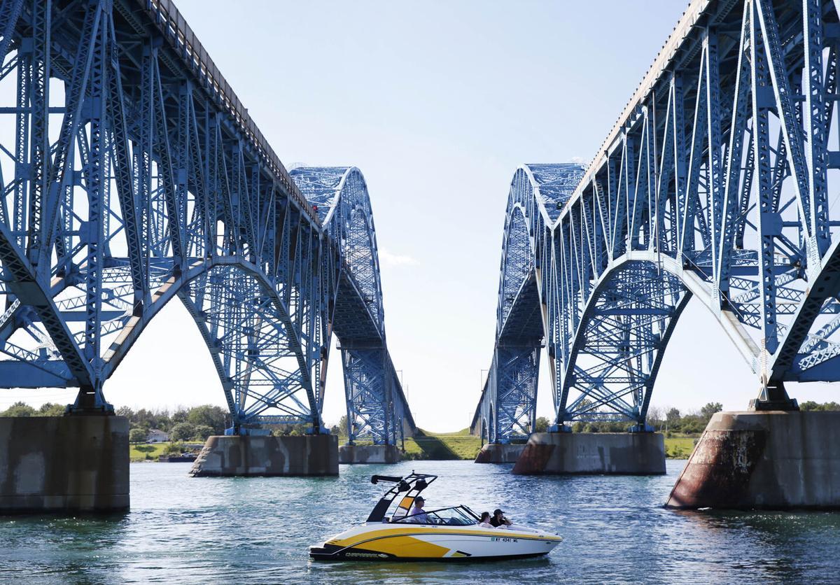 Under the bridge spans