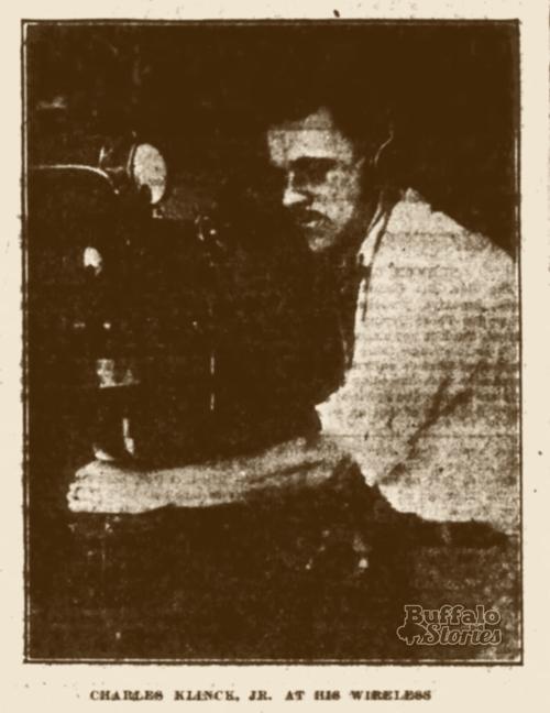 Charles Klinck 1920