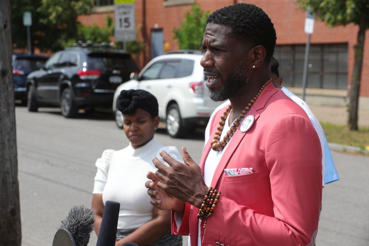 Jumaane Williams speaks to Buffalo violence