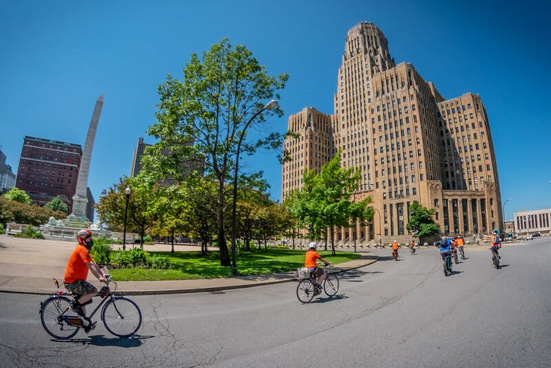Slow Roll Buffalo resumes with Covid-related restrictions
