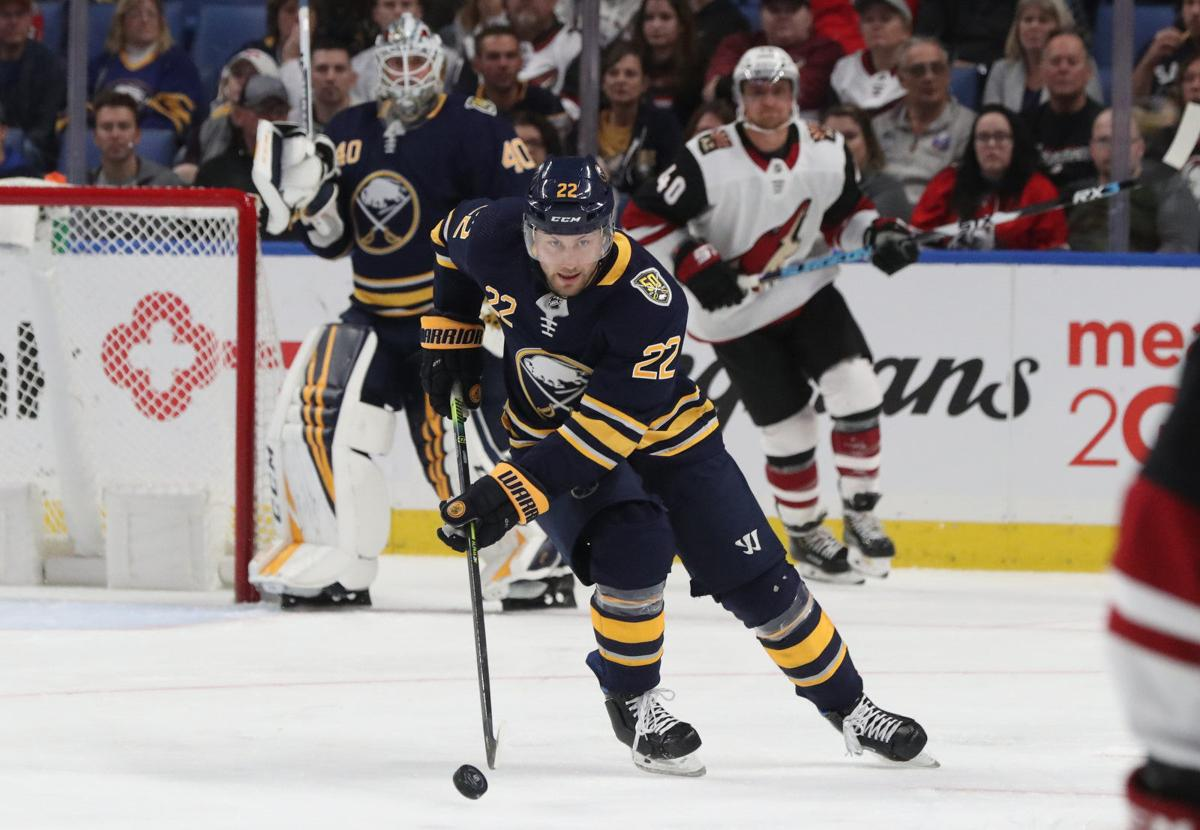 Buffalo Sabres left wing Johan Larsson