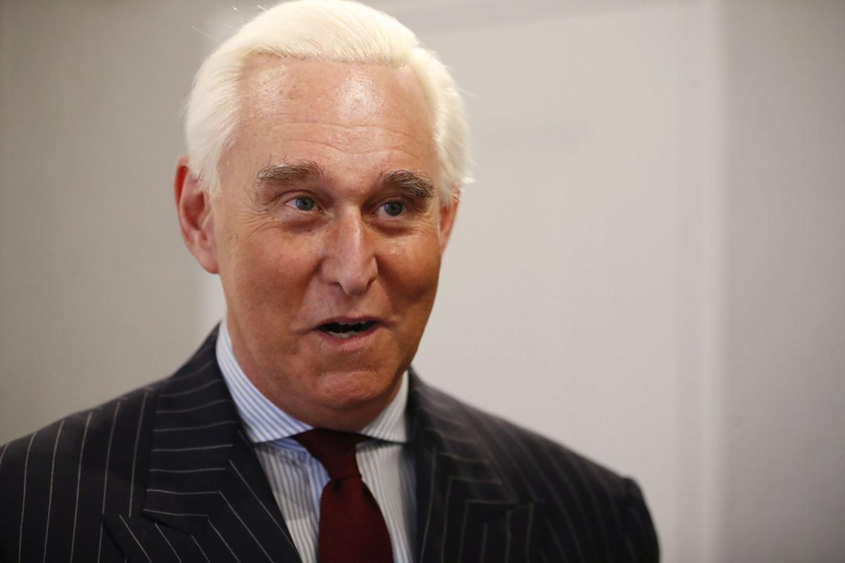 Tattoo roger stone What's With