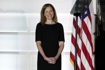 Amy Coney Barrett sworn in