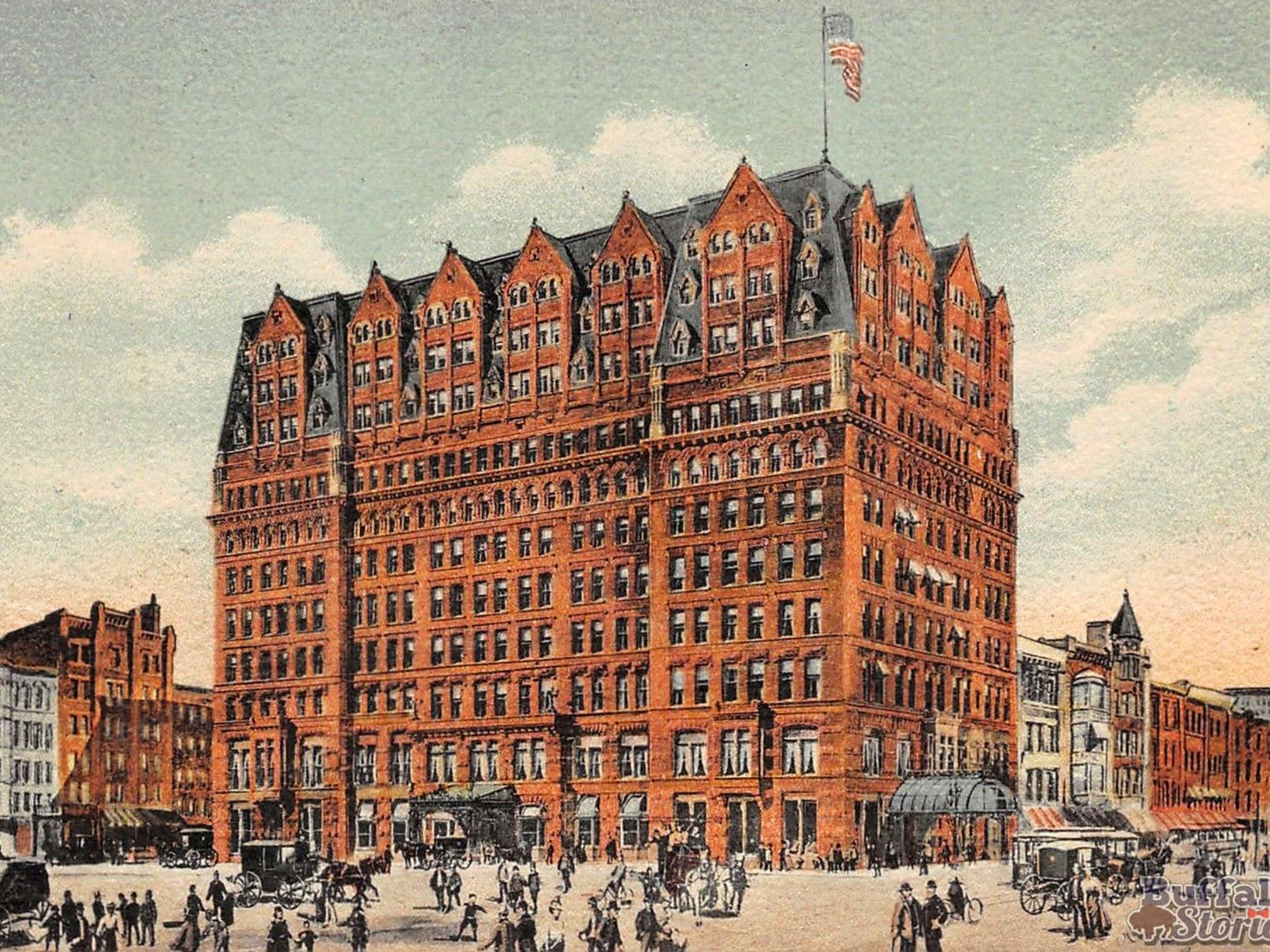 From 1880 To Today The Hotel Iroquois History Buffalonews Com