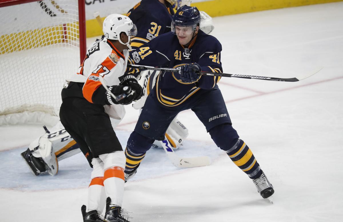 Sabres Flyers  Justin Falk