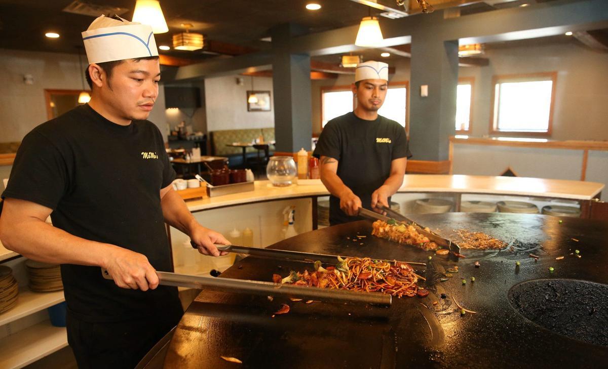 FEATURES Mo Mo's Mongolian Grill CANTILLON