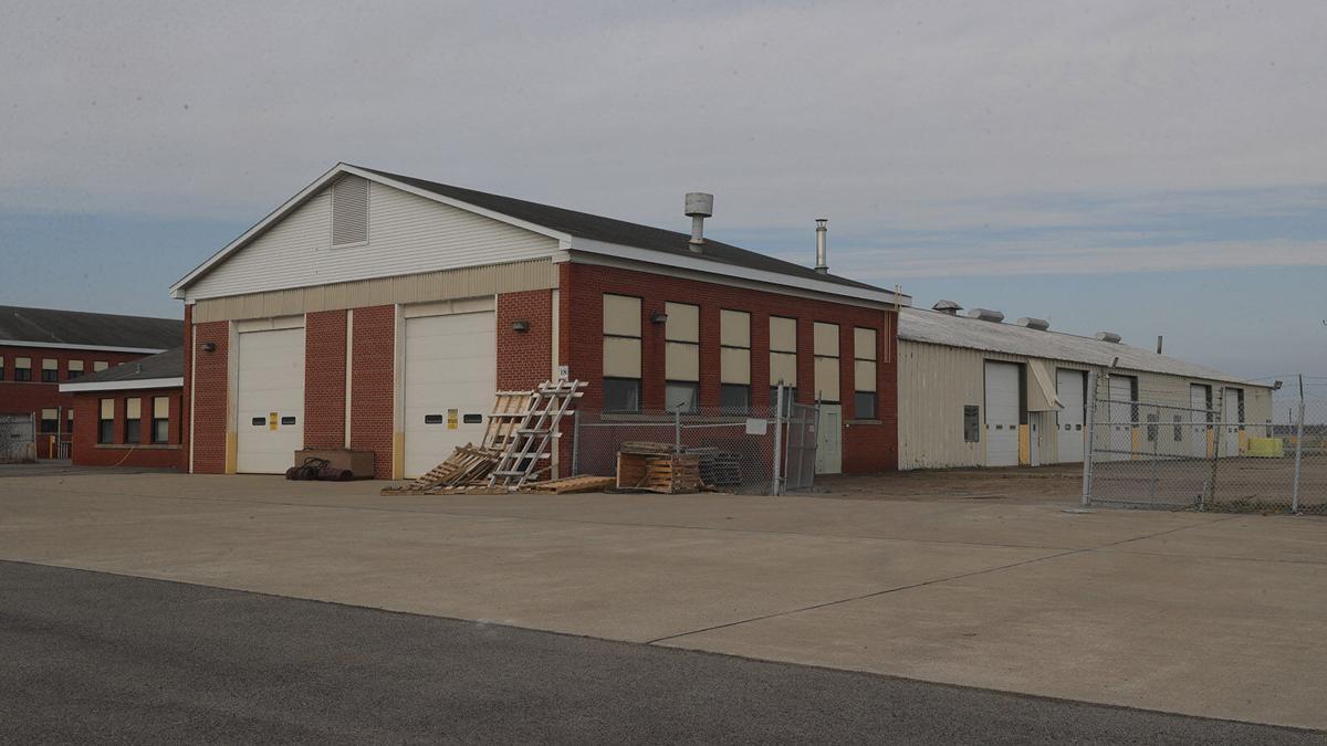 Former National Guard hangars Niagara Falls Hickey