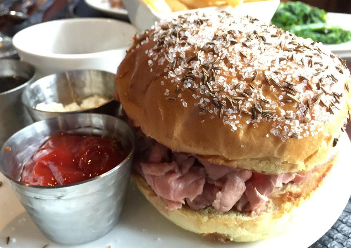 Eckl's at Larkin beef on weck