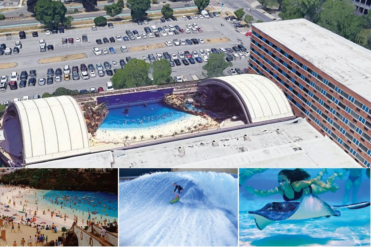 Rendering Niagara Beach and Surf Club