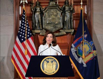 Hochul imposes school mask mandate, wants to require staff vaccines