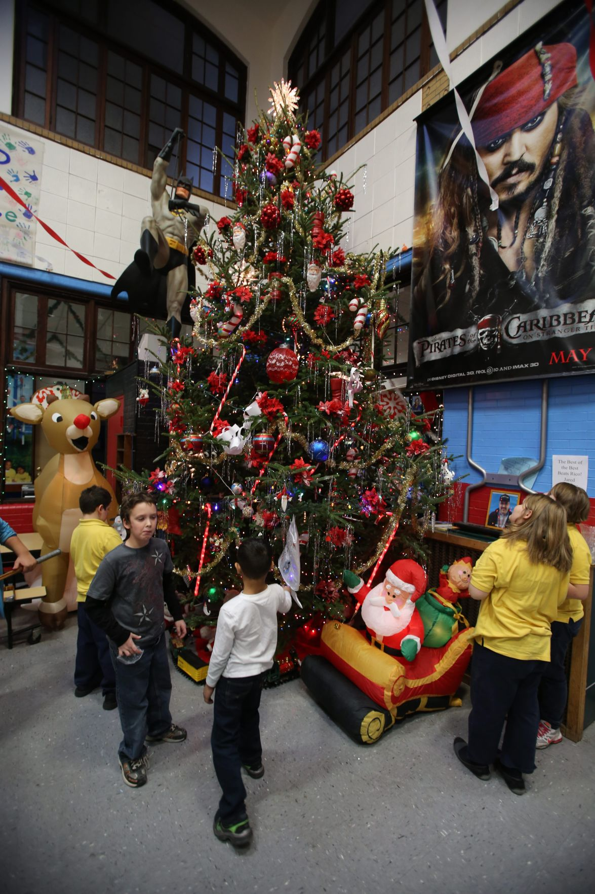 Town Boys Girls Club Holds Christmas Party Today Education Buffalonews Com