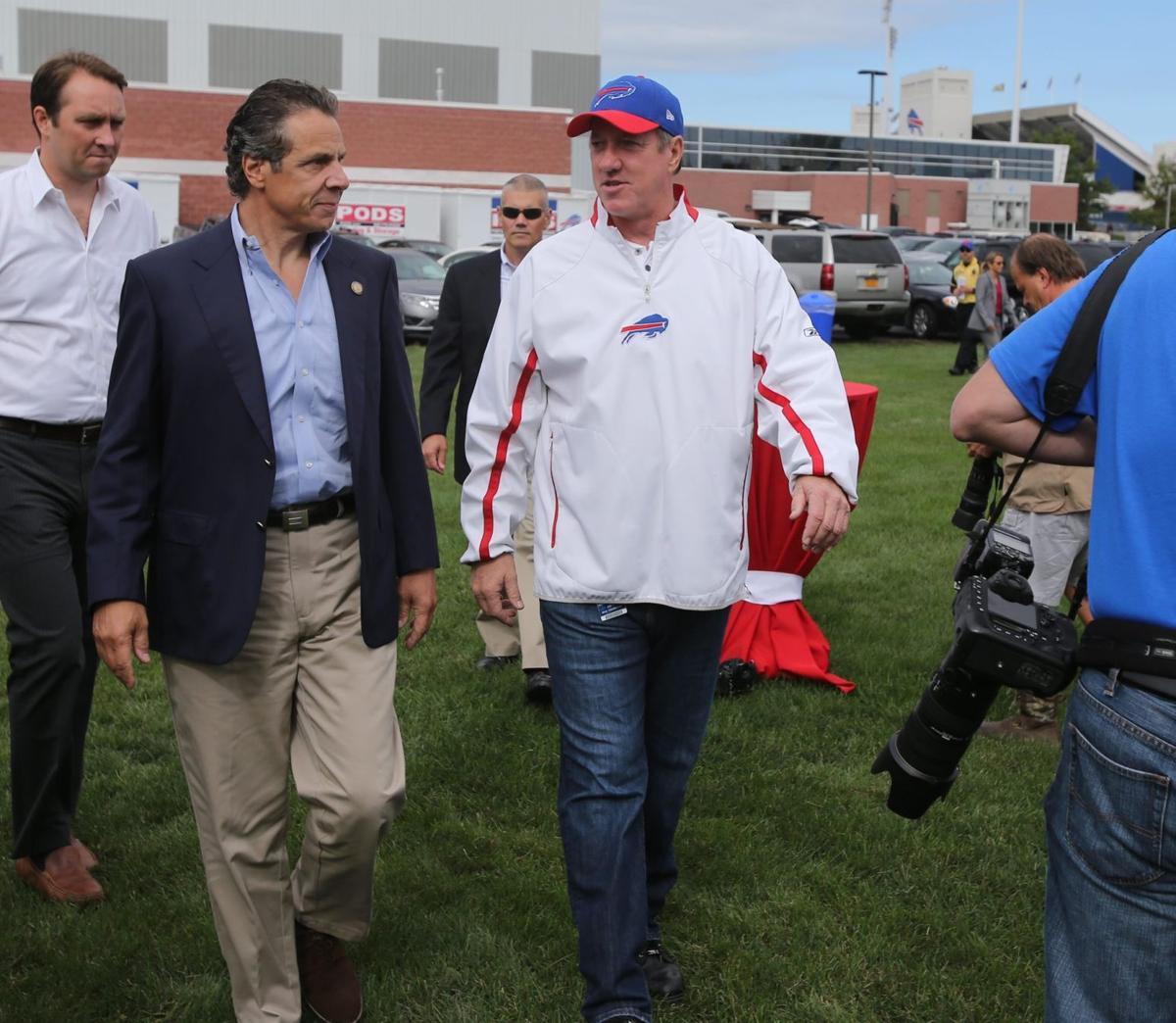 Cuomo Defends Harbor Plan For Buffalo Buffalo Bills News Nfl Buffalonews Com