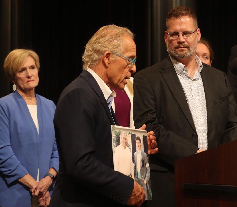 Victim of Rev. Michael Freeman talks  HICKEY