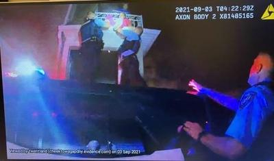 Cheektowaga police officers rescue victims from fire
