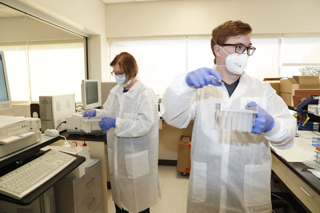 covid-19-testing-Kaleida Health-lab-KIRKHAM-2020